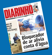 Aquamax no jornal Diarinho